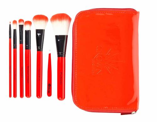 Crown Brush - Red 7 Pro Brush Set