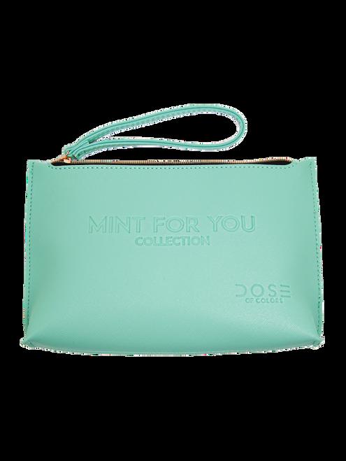 Dose of Colors - Mint Collection - Mint Makeup Bag (LE)
