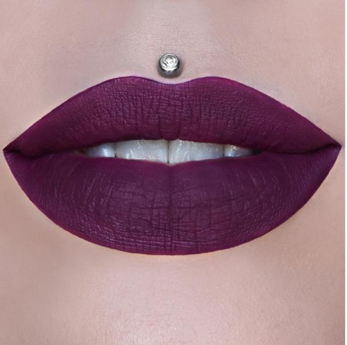 Jeffreestar Cosmetics - Holiday Glitter Collection - Velour Liquid Lipstick - Berries on Ice (LE) **New**
