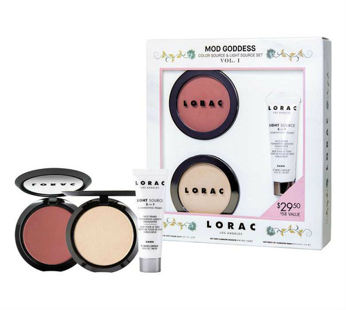 Lorac - Mod Goddess Color Source & Light Set (LE) **New**