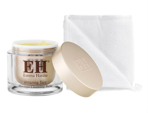 Emma Hardie Skincare - Moringa Cleansing Balm with Cleansing Cloth (50ml) **New**