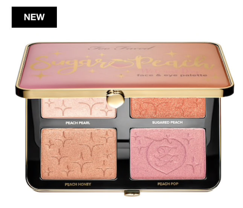 Toofaced - Sugar Peach Wet and Dry Face & Eye Palette (LE)