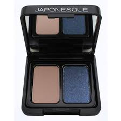Japonesque - Velvet Touch Eyeshadow Duo - Shade 05 - Tente (LE)