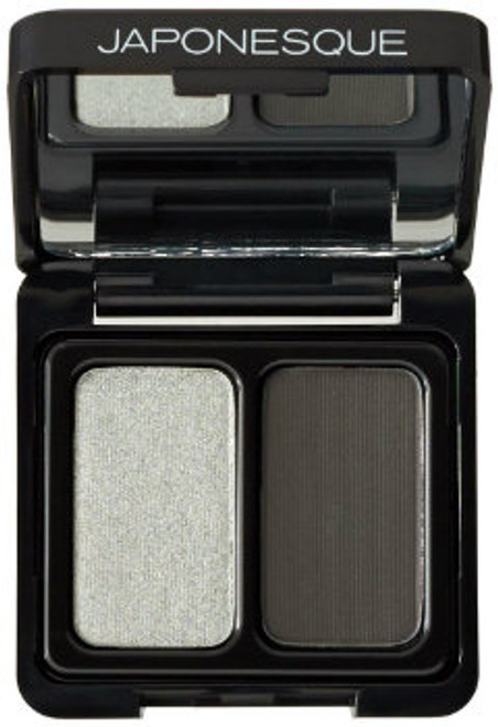 Japonesque - Velvet Touch Eyeshadow Duo - Shade 01 - Tente (LE)