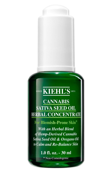 Kiehl's - Cannabis Sativa Seed Oil Herbal Concentrate - 30ml
