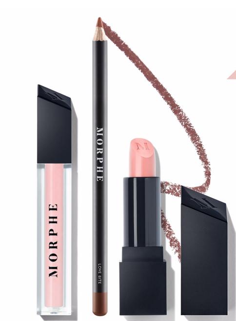 Morphe Brushes - Blushing Nude Lip Trio (LE)