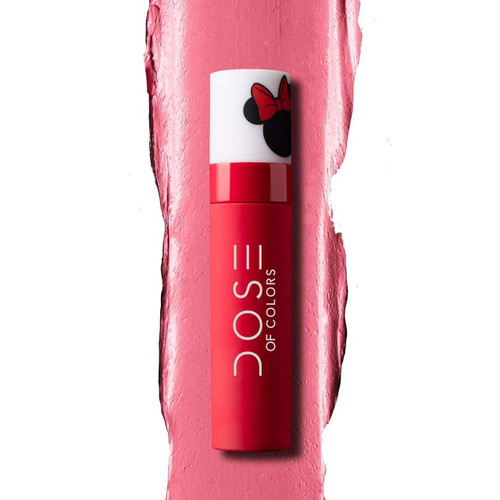 Dose of Colors - Minnie Mouse Collection - Liquid Lipstick - Ladies First (LE)