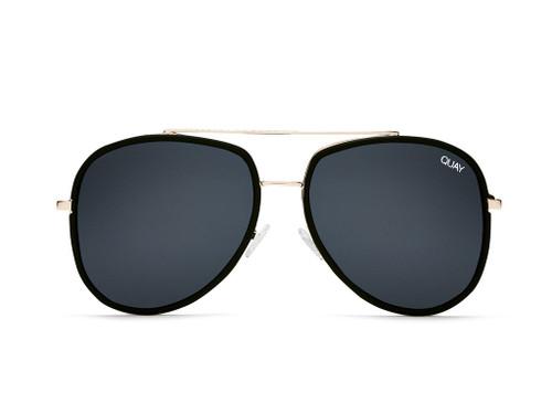 Quay Australia - Needing Fame Black Sunglasses (LE)