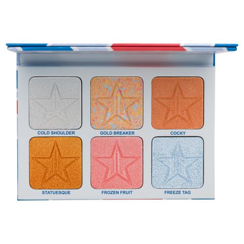 Jeffreestar Cosmetics - Jawbreaker Collection - Skin Frost Pro Palette - Brain Freeze (LE)
