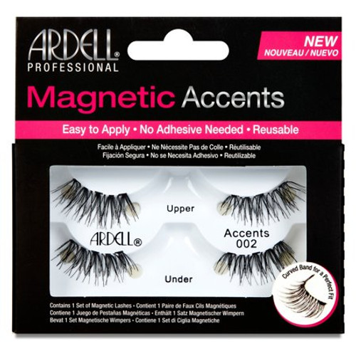 Ardell - Magnetic Accents False Lashes - 002
