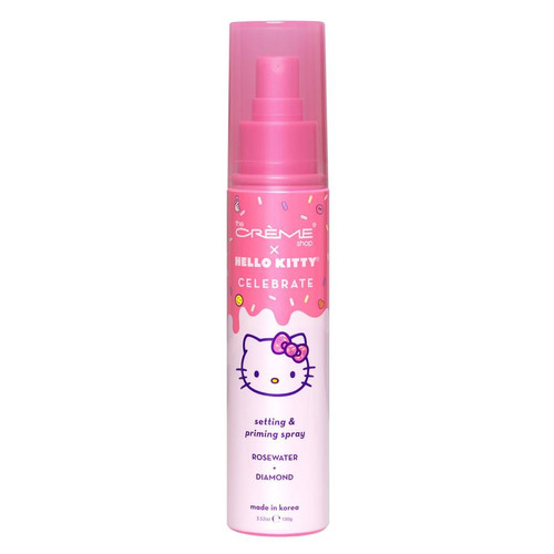 The Creme Shop - Hello Kitty - Celebrate Setting & Priming Spray - Rose Water + Diamond (LE)