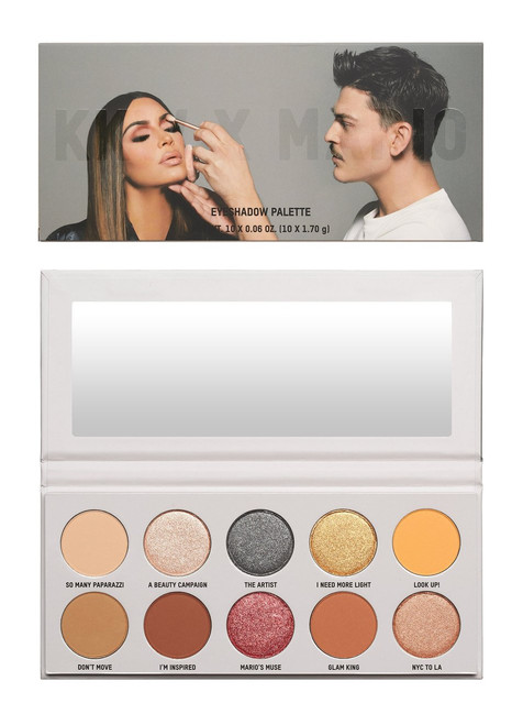 KKW Beauty - Mario - The Artist & Muse Eyeshadow Palette (LE)
