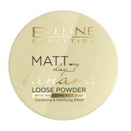 Eveline Cosmetics - Matt My Day Loose Powder - Banana