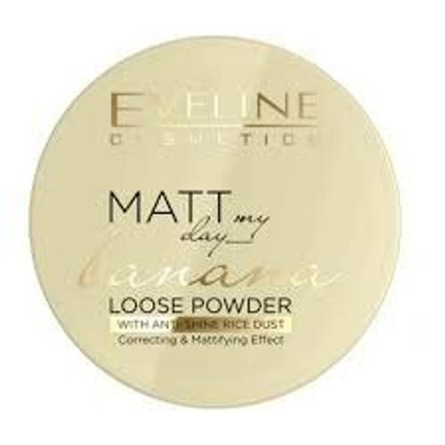 Eveline Cosmetics - Matt My Day Loose Powder - Banana