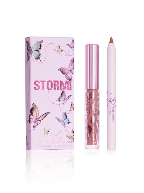 Kylie Cosmetics - Stormi Collection - Mini Matte Lip Kit - Stormi (LE)