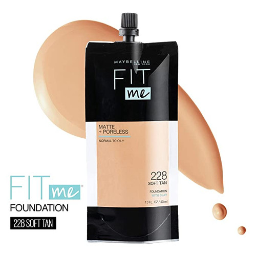 Maybelline - Fit Me Matte + Poreless Foundation Tube