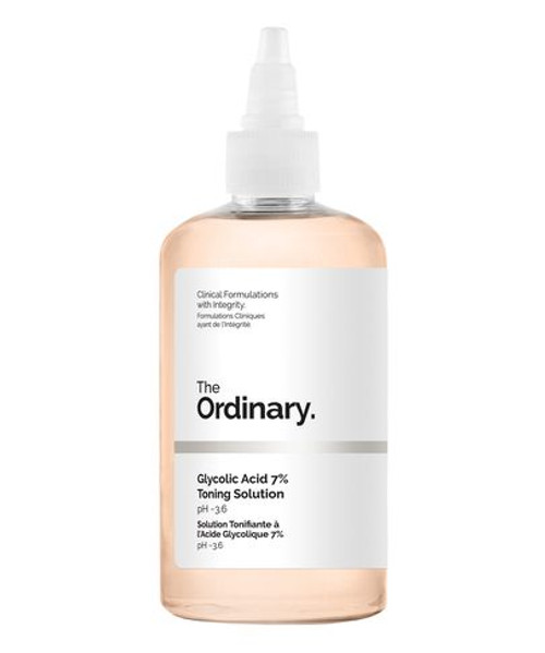 The Ordinary - Glycolic Acid 7% Toning Solution - 240ml (WITHOUT BOX)