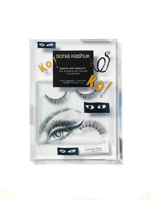 Sonia Kashuk - Knock Out Beauty - 2 Pair Full Allure & Full Volume Eyelash Set (LE)