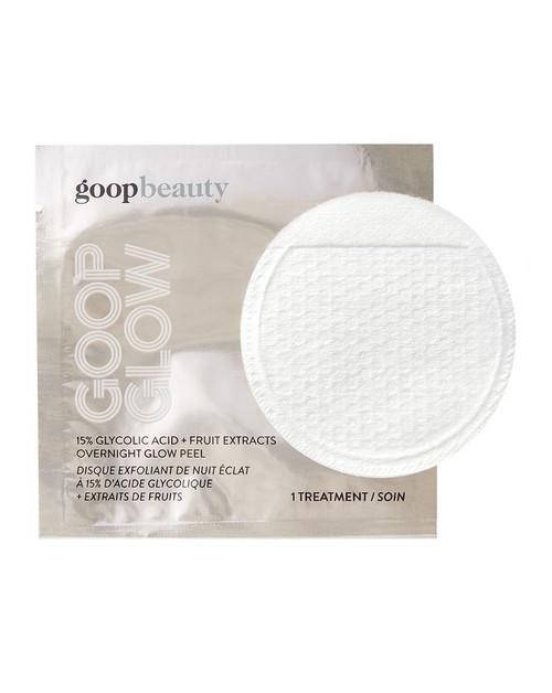 Goop Beauty - Goop Glow - 15% Glycolic Acid Fruit Extracts Overnight Glow  Peel - 1 Sheet