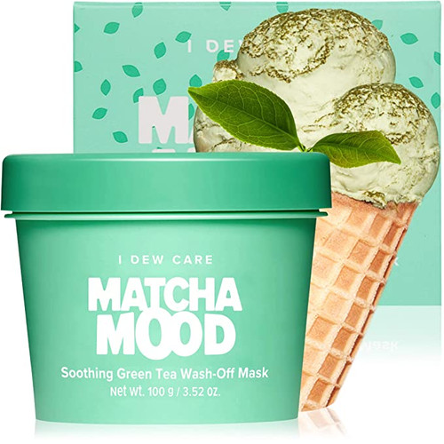 I Dew Care - Matcha Mood - Soothing Green Tea Wash-Off Face Mask