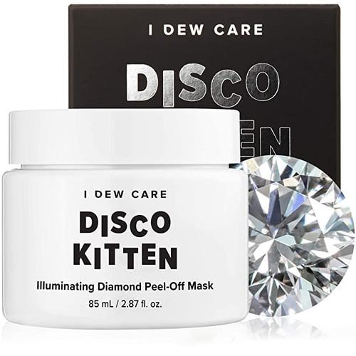 I Dew Care - Disco Kitten - Illuminating Diamond Peel-off Face Mask