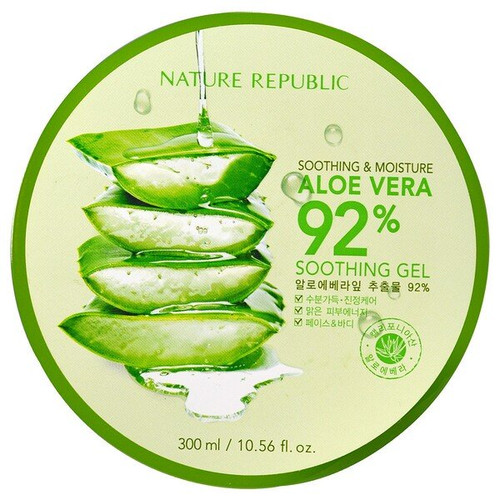 Nature Republic - Soothing & Moisture Aloe Vera 92% Soothing Gel (300 ml)
