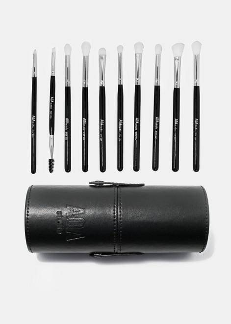 Aoa Studio - All About Eyes - Brush Set - Black