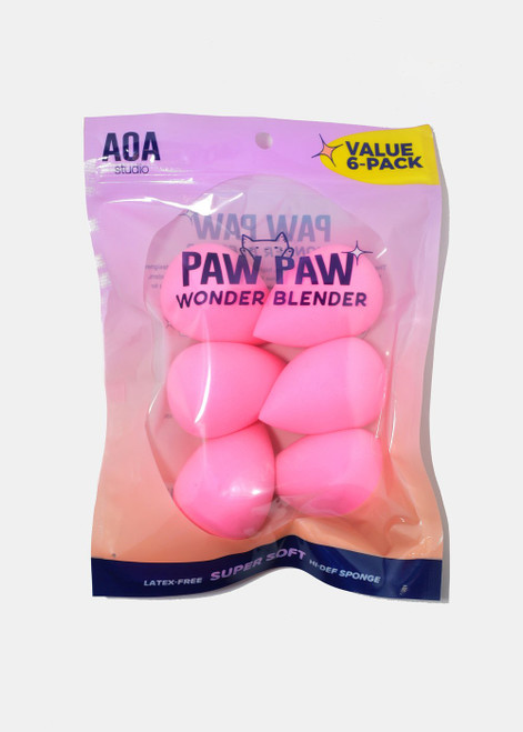 Aoa Studio - Paw Paw: Super Soft Wonder Blender - 6 Pack