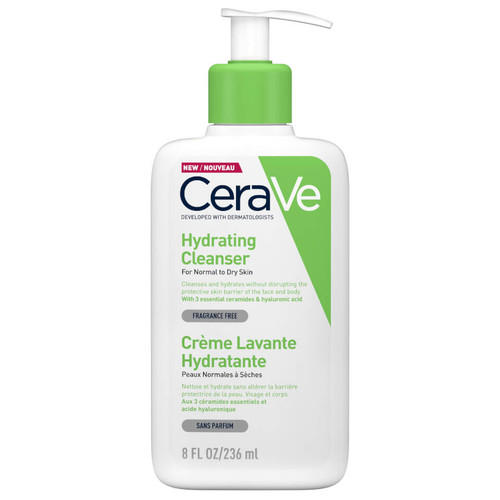 Cerave - Hydrating Cleanser - Normal to Dry Skin (236ml)