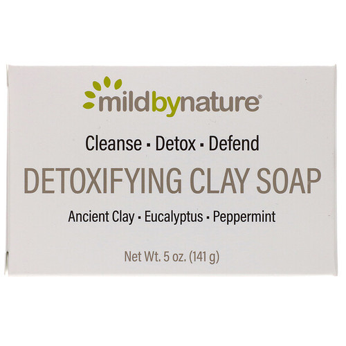 Mild By Nature - Detoxifying Clay Bar Soap - 50z