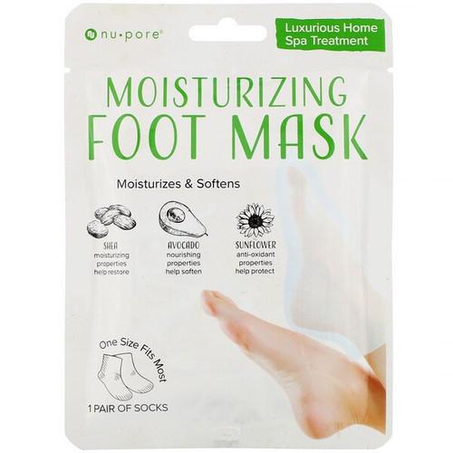 Nu-Pore - Moisturizing Foot Mask