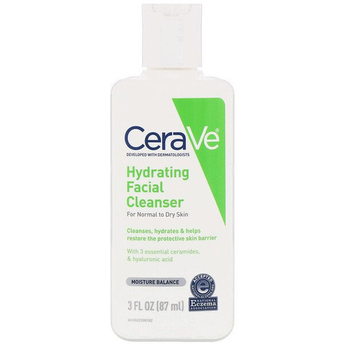 Cerave - Hydrating Facial Cleanser - For Normal to Dry Skin (87 ml)