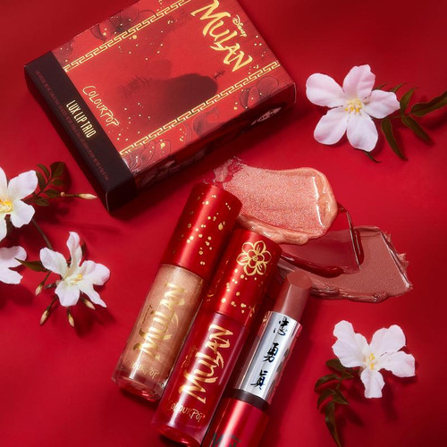 Colourpop - Disney Mulan - Lux Bundle - Honor To Us All (LE)