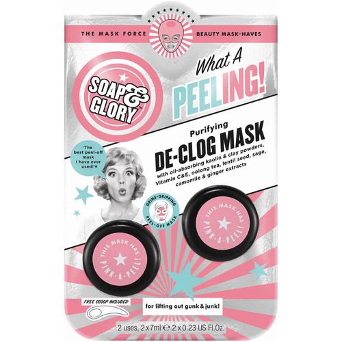 Soap & Glory - Purifying What a Peeling De-Clog Mask