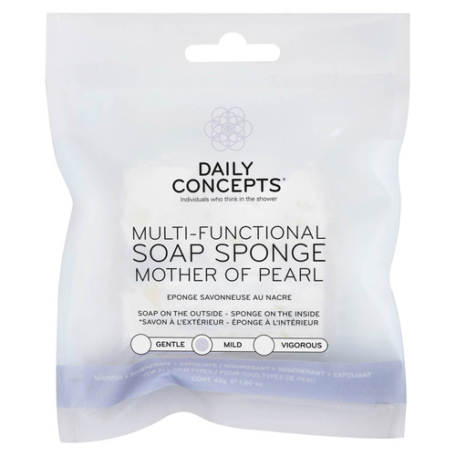Daily Concepts - Multifunctional Mother of Pearl Soap Sponge - 45oz