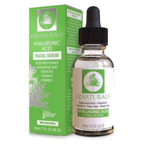 "Oz Naturals - Hyaluronic Acid Facial Serum ""Best Sellers"""
