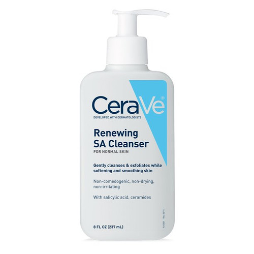 Cerave -  Renewing SA Cleanser For Normal Skin With Salicylic Acid (237ml)