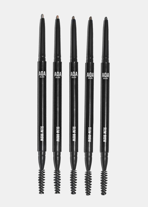 Aoa Studio - Slim Brow Pencil & Comb Duo