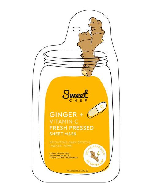 Sweet Chef - Ginger + Vitamin C Fresh Pressed Sheet Mask