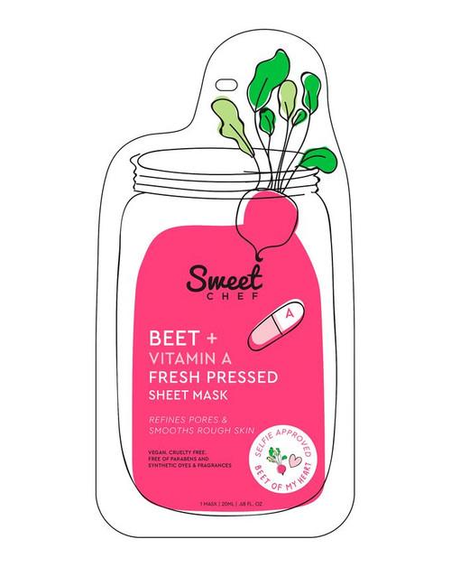 Sweet Chef - Beet + Vitamin A Fresh Pressed Sheet Mask