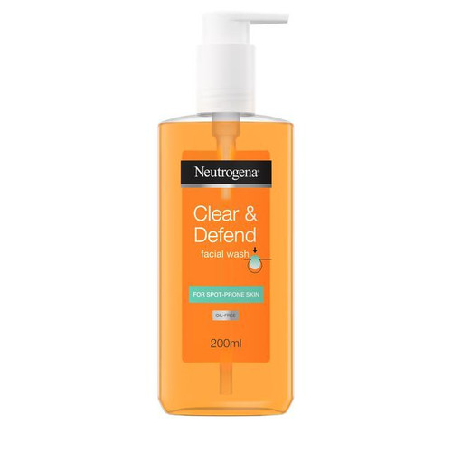 "Neutrogena - Clear & Defend Facial Wash (200ml) ""Best Sellers"""