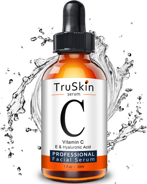 Truskin - Vitamin C Serum for Face with Hyaluronic Acid, Vitamin E, Witch Hazel