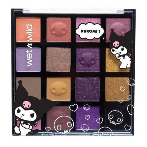 Wet n Wild - My Melody & Kuromi Collection - Kuromi Shadow Palette (LE)