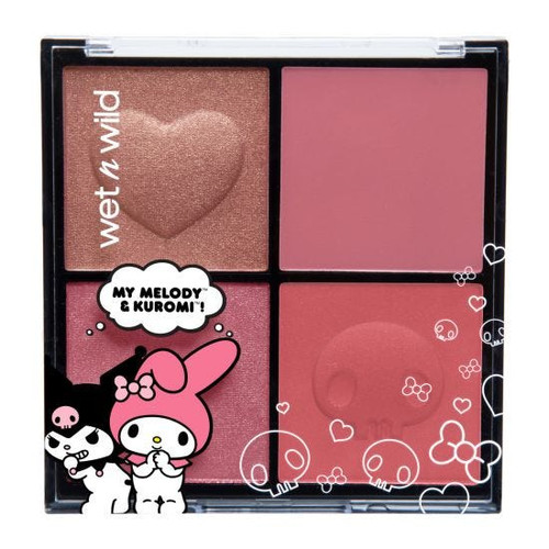 Wet n Wild - My Melody & Kuromi Collection - Blush Palette (LE)