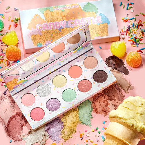 Colourpop - Candy Land - Eyeshadow Palette - Candy Castle (LE)