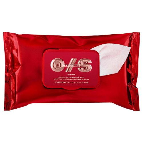 One Size by Patrick Starrr - Go Off Makeup Remover Wipes (21 wipes)