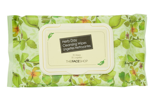 The Face Shop - Herb Day Cleansing Tissue (70 wipes)