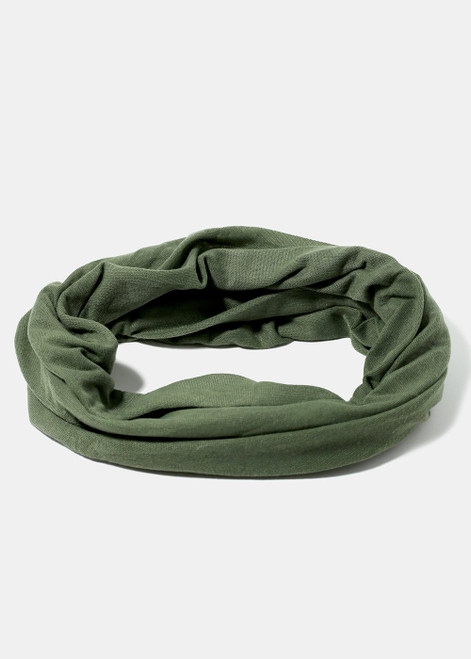 Aoa Studio - Solid Colored Multi-Use Face Covering Scarf