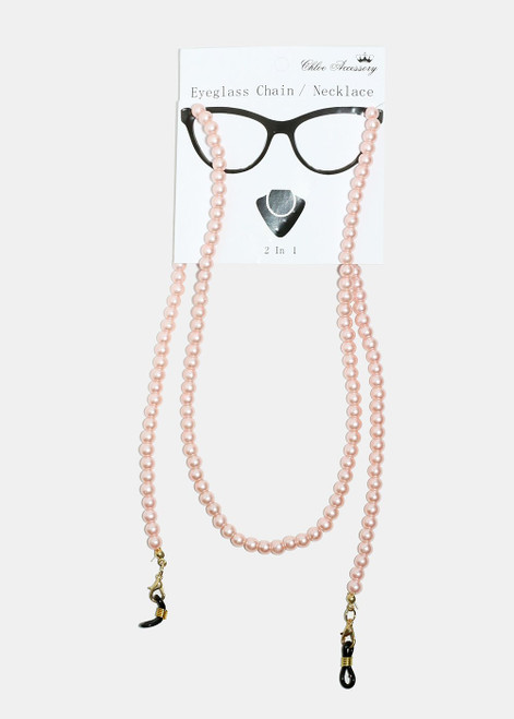Princess - Pearl Beaded Eyeglass Strap
