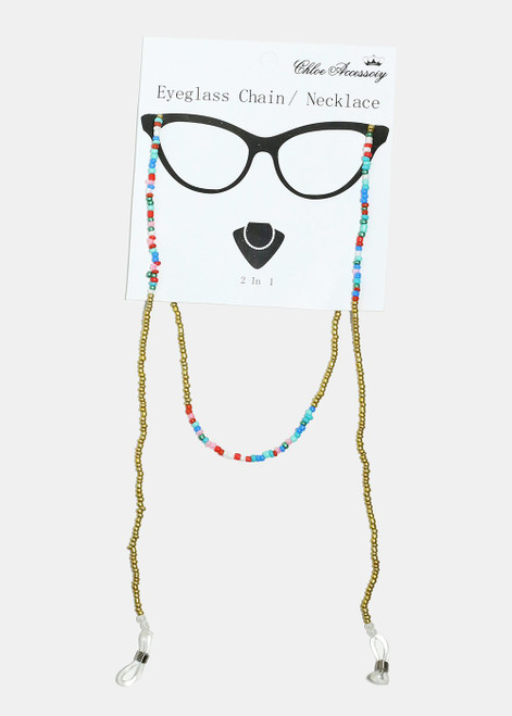 Princess - Beaded Eyeglass Chain/Necklace